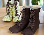 no 716 Adler Women's Combat Boots PDF Pattern