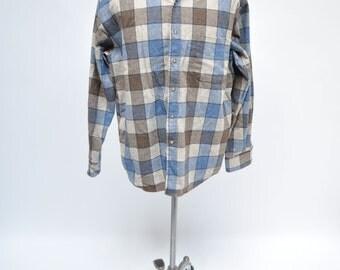 PENDLETON vintage shirt mens plaid wool size large checkered