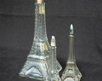 Eiffel Tower instant collection of 3. Souvenir from Paris.