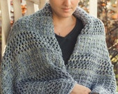 KNITTING PATTERN PDF file for Bulky weight blanket in 3 sizes