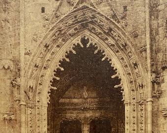 Unused Vintage Postcard - Kreisker Chapel, Saint-Pol-de-Léon, Brittany, France