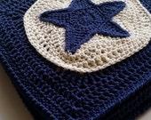 UK Terms Star Light Star Bright Blanket Crochet Pattern