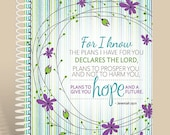 Simplicity Bloom / Prayer Journal / Prayer Notebook / Jeremiah 29:11