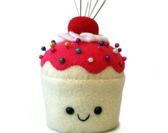 Felt Cupcake Pincushion - Made to Order