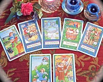 Birthday Tarot Card Reading, 5-Card Tarot, Happy Birthday Tarot Reading
