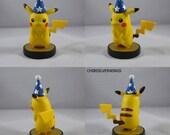 Pikachu Blue Party Hat Wizard Hat Amiibo Custom