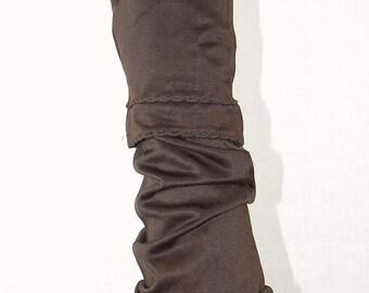 Ladies Vintage Rayon 2 Piece Longer Length Gloves