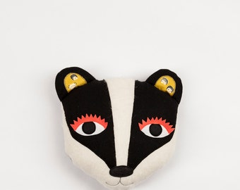 Badger Emma #2 - Pillow Face plus free tote bag!