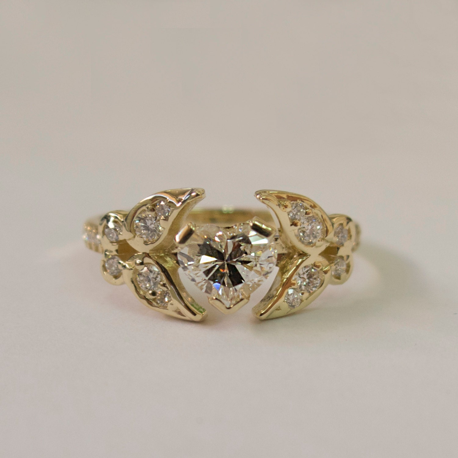 Butterfly Wedding Ring