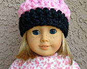 American Girl Crochet Hat Pattern