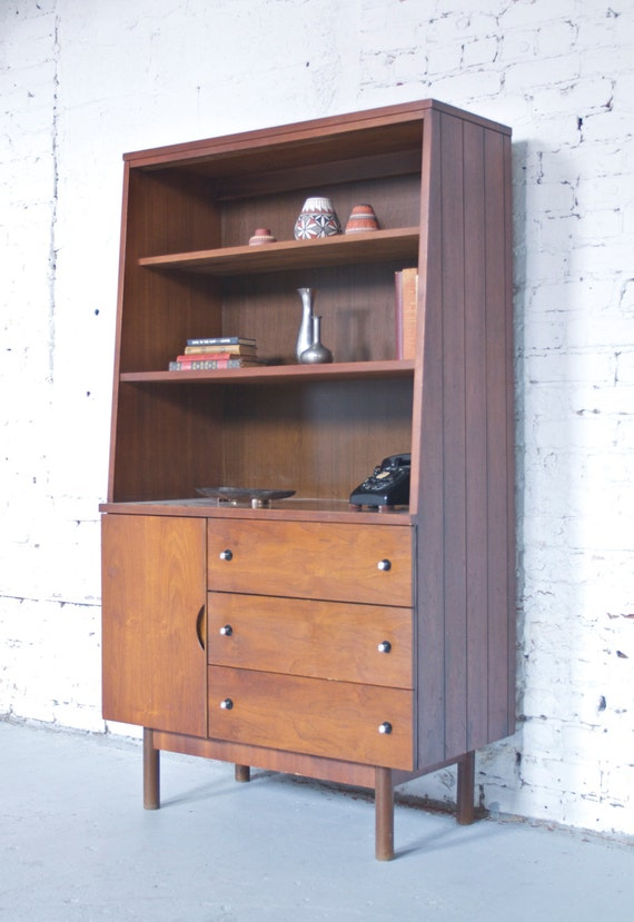 Mid Century Stanley China Cabinet Pictures To Pin On