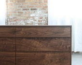 SALE - Solid Walnut Bedroom Dresser - Hayward Dresser - Available in other woods