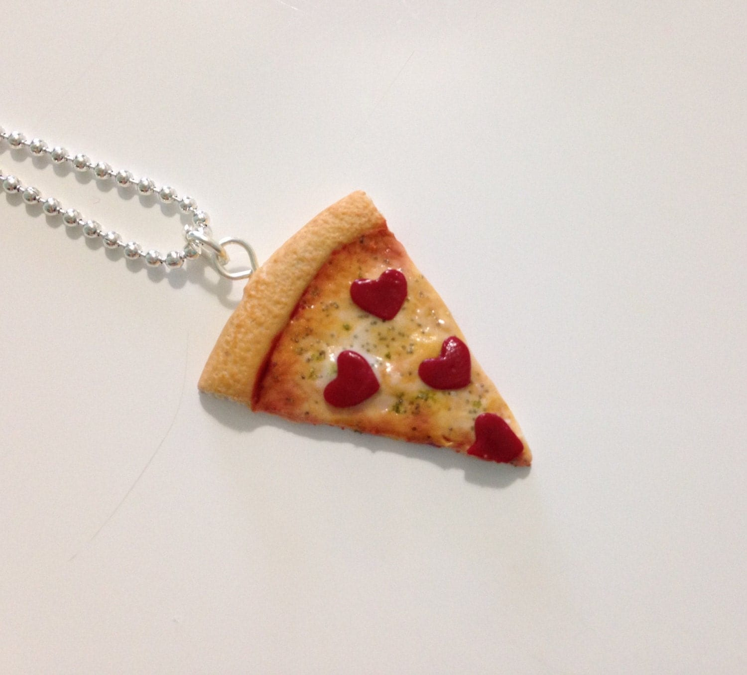 pizza necklace food jewelry pizza bff necklace