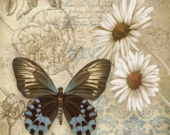 Butterfly Garden I - Cross stitch pattern pdf format