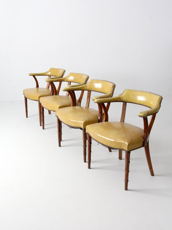 Reserve mid century barnard amp simonds game table chairs by 86home