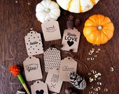 10 Gift Tags - Hello, Good Stuff, You Are Awesome, Hello Love, Cheers, So Happy for You