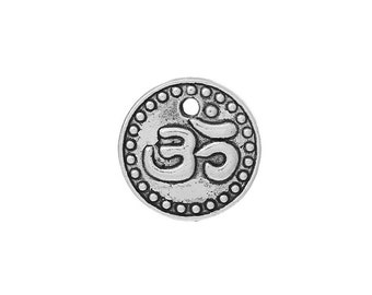 10 Ohm Charms in Silver Tone - C2108