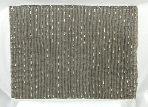 25 japanese zokin cloth antique handmade floor cloth