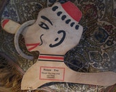 Rare Nozee Dexterity Toy. Throw the Ring Over the Nose Toy.   Y-276