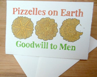Pizzelle Notecard