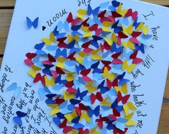 Autism Awareness Butterfly Wall Art