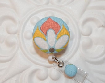 Retractable Badge Holder - Id Badge Reel - Badge Holder - Blue