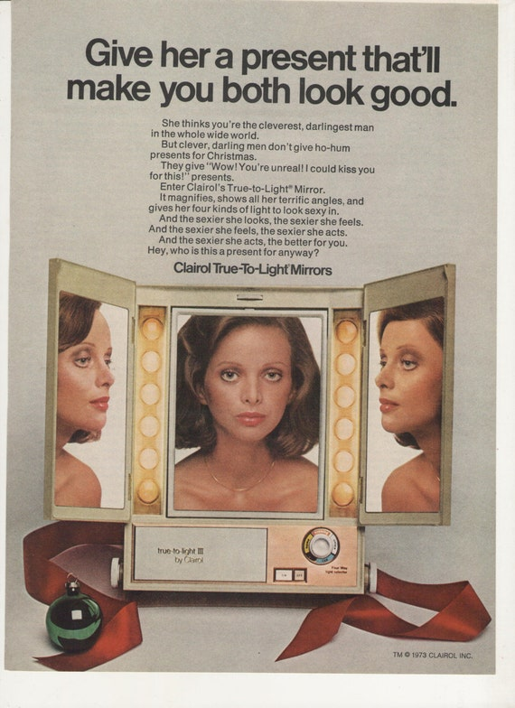 1973 Clairol True To Light Mirror Advertisement By Fromjanet