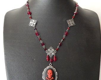 Sale Red Pirate necklace