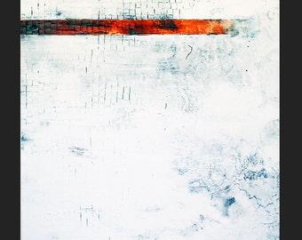 Gabriel, Large Original Square Abstract Modern Organic Painting, NYC Artist