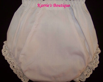 Diaper Cover / Bloomer / Panty / Double Seat / Infant / Baby / Toddler / Girl / Custom Boutique Clothing