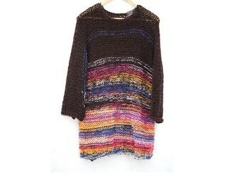 Gradient Knit Jersey.