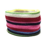 Medium Multi Color Stripe...