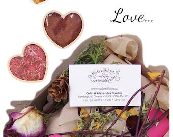 Gimme Some Lovin' Collection  Organic Alphabet Soup Mix - BBQ Rub  Pesto Garlic Artisan Spice Blend - Dip Mix - Made with Love EarthMarket