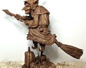 La Befana the Witch Sculpture
