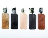 Leather Glasses Case. Leather case for Sunglasses
