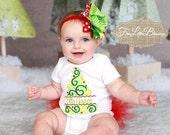 Christmas - Christmas tree - holiday - santa - Christmas outfit - personalize - stocking