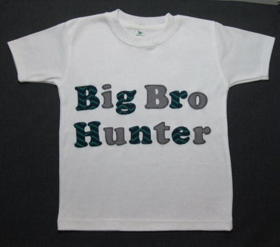 Baby Gifts For Big Brother : Items similar to personalized big brother shirt sibling