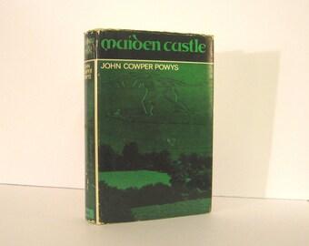 Maiden Castle, a Novel by John Cowper Powys, the 1966 Reprint Published by Colgate University Press Cerne Abbas Giant Vintage Book