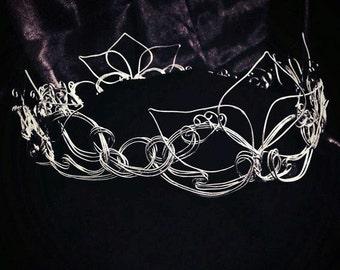 Bridal Hair Tiara | Wedding Crown Tiara | Bridal Tiara | Wedding Tiara | Wedding Crown | Bridal Headpiece | Bridal Crown | Hair Jewelry