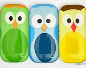 Owl Magnets - Fridge Magnets - Cartoon Owls