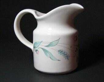 vintage stoneware creamer pfaltzgraff april retired dinnerware pattern - Pfaltzgraff Patterns