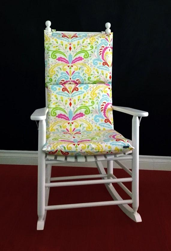 Rocking Chair Cushion Cover Kumari Garden by RockinCushions