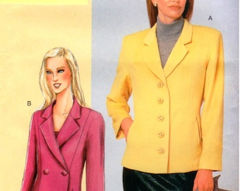 Vogue Pattern 7334 - Today's Fit by Sandra Betzina - Misses/Misses Petite Jacket - ABC - UNCUT