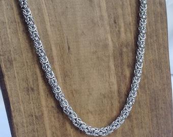 Delicate Byzantine Necklace - Ready To Ship