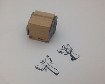 Angels Stamp Set of 2 by Etchythings S006