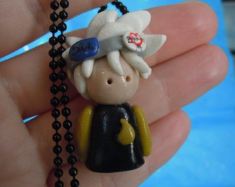 Anime, Soul Eater, Soul Necklace, Soul Evans, Polymer Clay