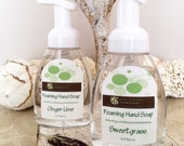 Foaming Hand Soap, Lemongrass, All Natural 8.5 oz