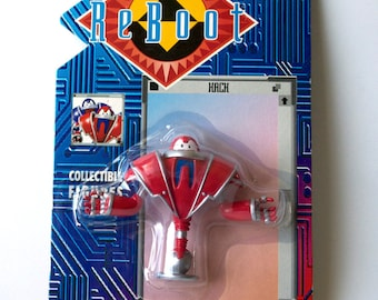 Reboot Action Figure Hack, Animation, Cartoon, 1995, Brand New in Package