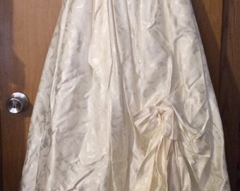 Vintage Prom Formal Wedding Dress size 7 worn once
