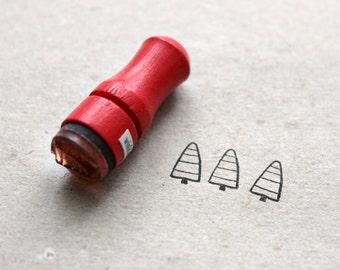Mini Fir Tree Rubber Stamp